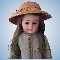 Kuhnlenz (Gebruder) 18 inch rarer German doll