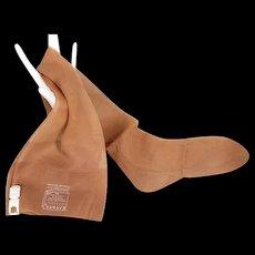 "NOS Vintage c.1950 Kayser ""Stylon"" Stockings 3 Pairs in Box 8 ½"