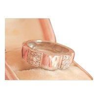 18K CHANEL Profil de Camellia French Diamond Ring