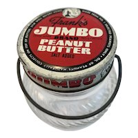 Frank's Jumbo the Elephant Peanut Butter Jar with Bail Handle