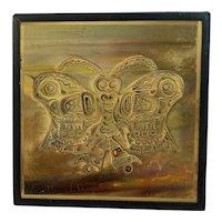 Acid Etched Butterfly by Bernhard E Rohne Metallic Design Studio