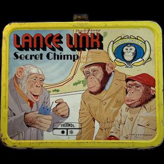 1971 Lancelot  Link Secret Chimp School Lunch Box Lance