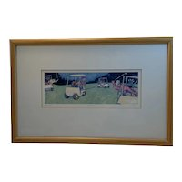Polo Golf Limited Edition 15/400 Print Artist Signed by Jonathan Heath