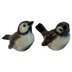 Goebel Pair Sparrow Bird Figurines W Germany German CV72 CV73