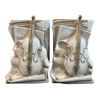 1960s Musical Bookends Violin Paganini Concertos Music Books