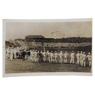 RPPC Baseball in Panama Real Photo Postcard