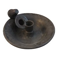 James Dixon & Sons Brittania Pewter 2 Piece Candle Holder