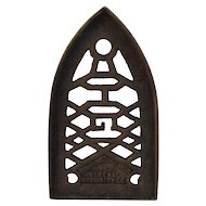 Humphrey Gas Iron Trivet