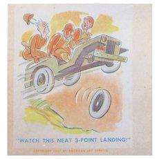 Comical WWII Envelope World War II 2