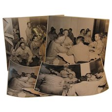 Group of 4 Photographs of a West Point Dinner on March 16, 1946