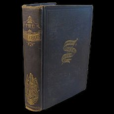 1867 Civil War Book - The Blue Coats and How They Lived, Fought and Died for the Union by Captain John Truesdale - Red Tag Sale Item