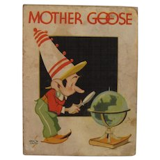 1935 Mother Goose as Told By Kellogg's Singing Lady Cereal Premium Book - Vernon Grant Illustrated