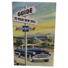 1953 Chevrolet Owner's Manual