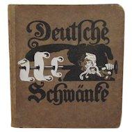 Deutsche Schwante c1917 Illustrated German Children's Book Sigmund Von Suchodolski Illustrations