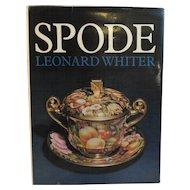 Spode Book by Leonard Whiter 1970