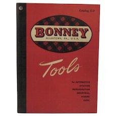 1950 Bonney Tools Catalog Allentown, Pennsylvania