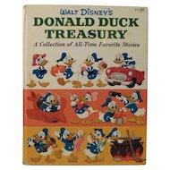 Walt Disney's Donald Duck Treasury Book 1960