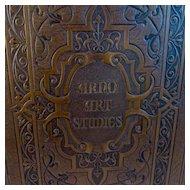 1931 Arno Art Studies Volume 4 American Modern Art Leather Bound Book