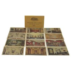 International Eastern Star Temple Postcards