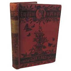 1881 The Poetical Works of Lord Macauley Victorian Book