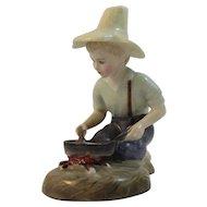 1961 Royal Doulton River Boy Figurine Bone China