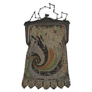 Whiting Davis Art Deco Mesh Purse