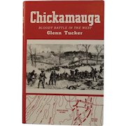 Chickamauga Bloody Battle in the West by Glenn Tucker Civil War Book