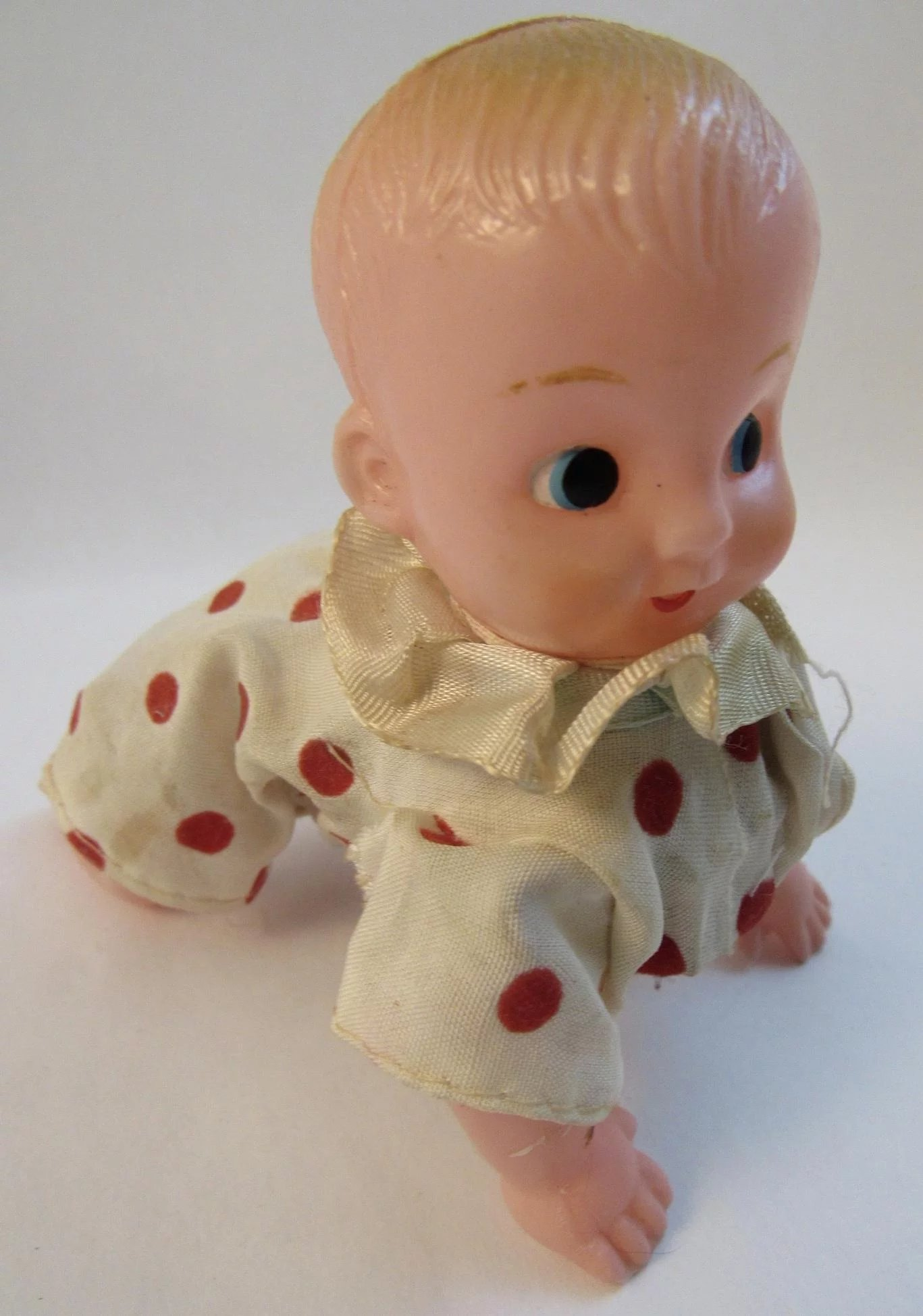 Mechanical Wind Up Crawling Baby Ss Moore Antiques