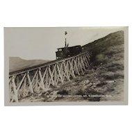 RPPC Railroad Train on Jacob's Ladder, Mt. Washington NH