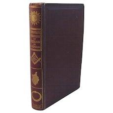 1856 The Theocratic Philosophy of Freemasonry in Twelve Lectures Book by Oliver Masonic Masons Masonry Freemasons Mason
