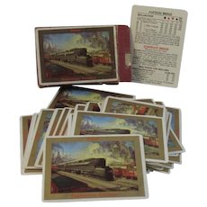 Pennsylvania Railroad Wide Playing Cards Power WWII Era