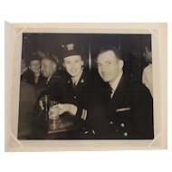 WWII USN WAVES Photograph and the Stork Club NYC Patriotic Homefront