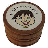 Turned Wood Tooth Fairy Box