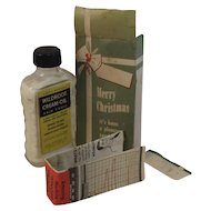 Wildroot Cream-Oil Hair Tonic in Merry Christmas Box