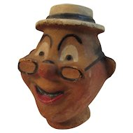 Papier Mache Pulp Character Doll or Puppet Head