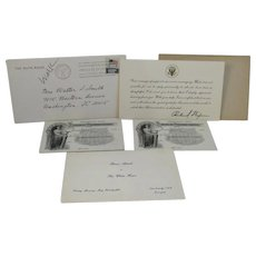 Nixon White House Card and House of Representatives Member's Passes