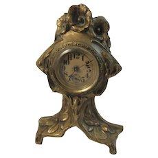 Art Nouveau Mantle Clock.