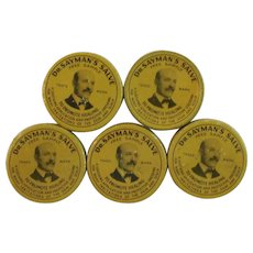 Dr. Sayman's Salve Tins Sample Size