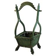 Victorian Oriental Style Basket