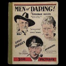 1933 Men of Daring by Stookie Allen Heroes Book
