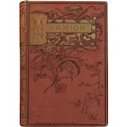 1884  Marmion: A Poem in Six Cantos by Sir Walter Scott Victorian Poetry Book