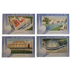 1939 New York World's Fair Postcards by Miller Art Co