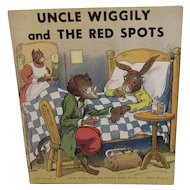 1939 Uncle Wiggily and the Red Spots Children's Book Illustrated by George Carlson