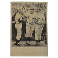 Cincinnati Reds Original Signed Baseball Photograph