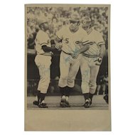 Cincinnati Reds Original Signed Baseball Photograph