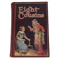 c1930 Eight Cousins Frances Brundage Illustrated Children's Book by Alcott