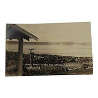 RPPC Grand Trunk Pacific Railway Real Photo Postcard GTP Railroad