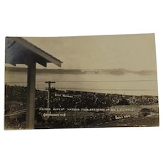 RPPC Grand Trunk Pacific Railway Real Photo Postcard GTP Railroad