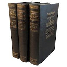 Lee's Lieutenants 3 Vol Set Civil War Books