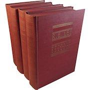 R.E. Lee 4 Vol Set of Civil War Books by Freeman 1934